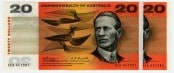 Twenty Dollar Commonwealth of Australia Issue 1