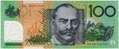 $100.00. Fraser/Evans