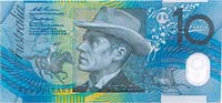 Australian polymer banknotes-grading and condition