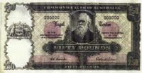 The Fifty Pound Banknote Specimen Banknote