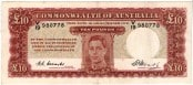 King George VI Ten Pound Banknote 1
