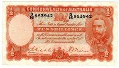 Pre Decimal Ten Shillings Archives - Australian Banknotes