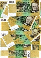 FULL setOF FIFTY DOLLAR PAPER BANKNOTE ISSUES 1