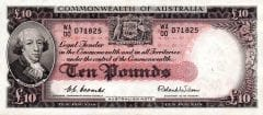 ten pounds commonwealth of australia