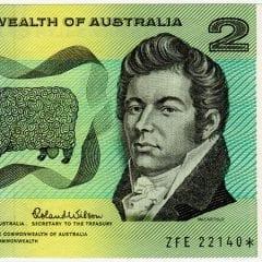 Decimal Two Dollars