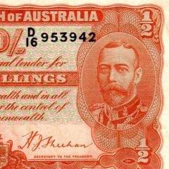 Pre Decimal Ten Shillings