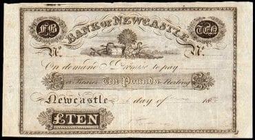 Bank of Newcastle 1828