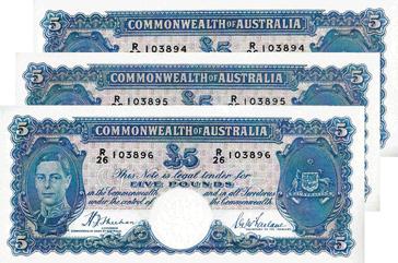 Australian Banknotes - Australian, Pacific & Commonwealth