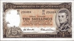 Ten Shilling CoombsWilson. Circa 1954