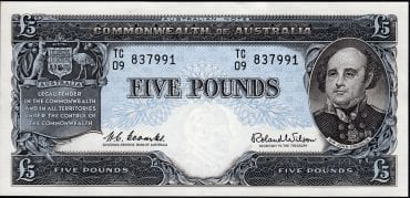 R50 FIVE POUND COOMBS WILSON