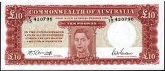 10 Pound Armitage McFarlane KGVI Unc 1942