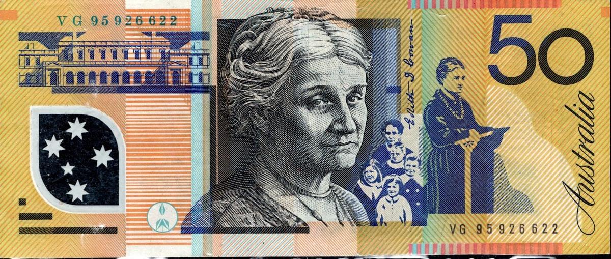 Australian 2 dollar bill serial number lookup   One Dollar