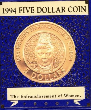 1994 FIVE DOLLAR TO